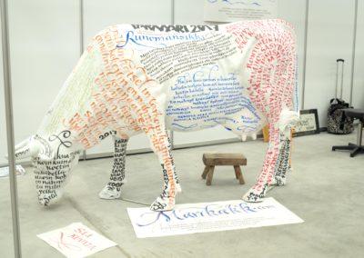 lehmän maalaus